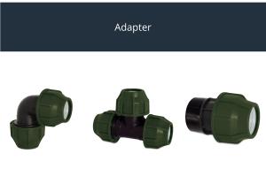 Adapter für 32mm-Leitung